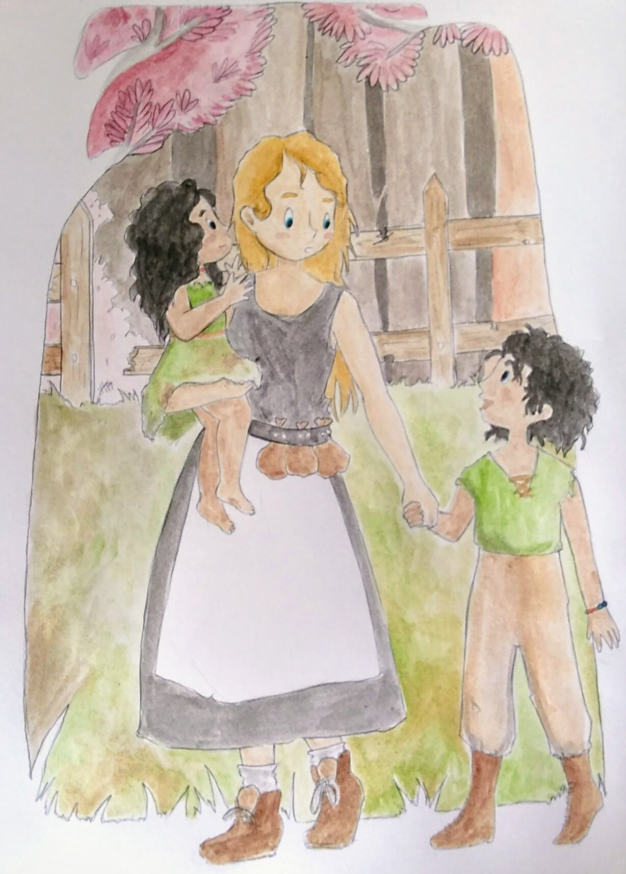 Lylianna devenant la maman d'Alyssa et Jerod