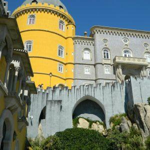 Palais de Pena (faïences et jaune)